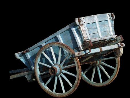 Cart, Former, Transport, Time, Nostalgic, Wheel, Hitch
