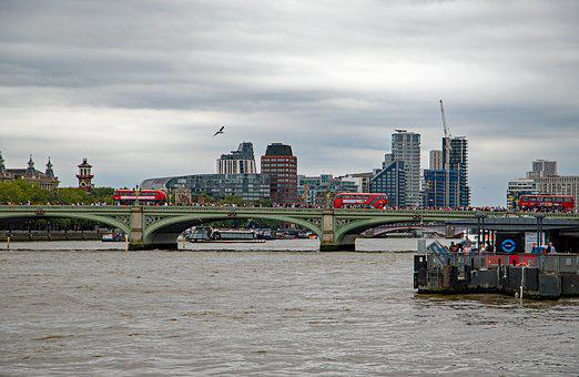 London, Thames, City, Tourism, Bridge, Cityscape