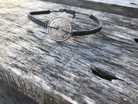 Jewellery, Macrame, Danish Krone, Tying, Human, Arm