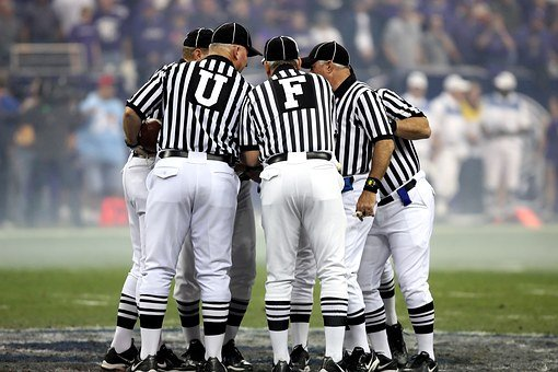 American Football, American Football Officials