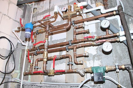 Automation, Bypass, Copper, Heating, Manometer, Mixing