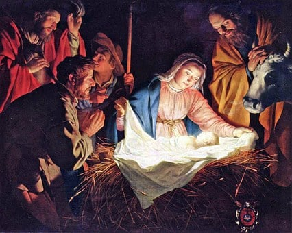 Birth Of Jesus, Nativity, Adoration Of The Shepherds