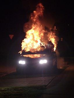Car Bomb, Fire Bomb, Car Accident, Bomb, Explosion