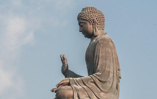 Buddha Giant Tian Tan, Zen, 34 Meters High, 250 Tonnes