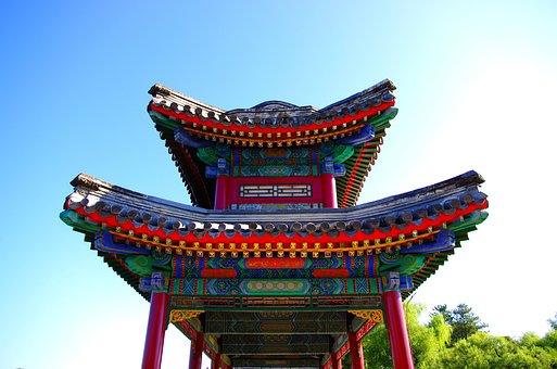 China, Hebei, Chengde, Mountain Resort, Ligong