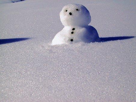 Snow, Snow Man, Winter, Snowmen, Cold, White, Wintry