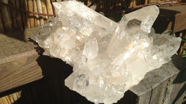 Rock Crystal, Take Place Arkansas, Crystal, Light Work