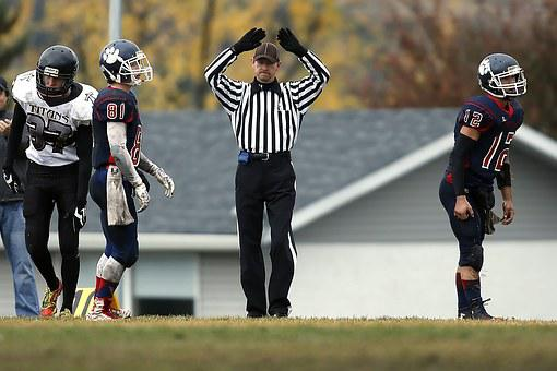 American Football, Football, Football Referee, Official