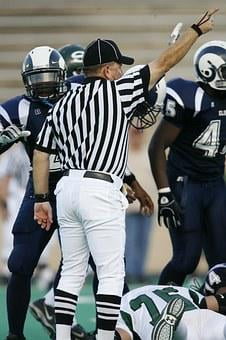 American Football, Football Official, First Down