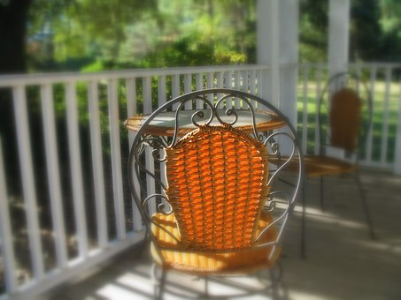 Porch, Chair, Light, Wood, Furniture, Exterior, Patio
