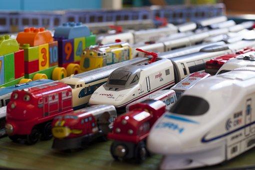 Train, Toy, High Speed