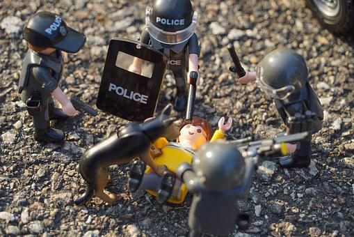 Playmobil, Figures, Toy, Innocent Civilians, Swat