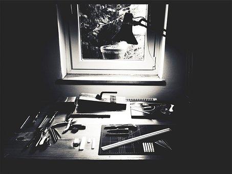 Tools, Supplies, Materials, Pliers, Razor Blades