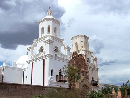 Church, Mission, Historic, Religion, Landmark, Catholic