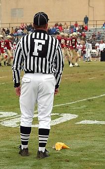 Football Official, Official, Field Judge