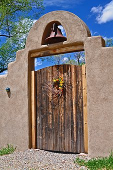 Old Door, Wooden Door, Old, Wood, Rustic, Spanish Style