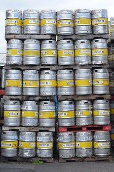 Beer, Barrels, Party, Excess