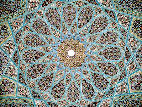 Persian, Art, Tradiotional, Islamic, Paisley, Culture