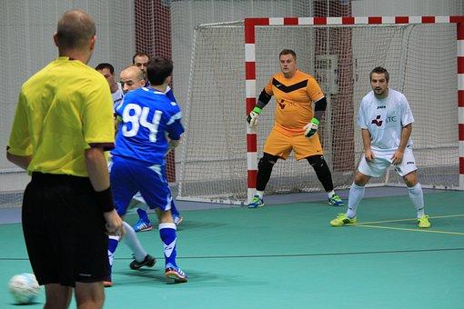 Futsal, Amateur, Ball, Hall, Play, Sport, The Player