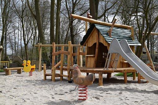 Children's Playground, Petting, Playset