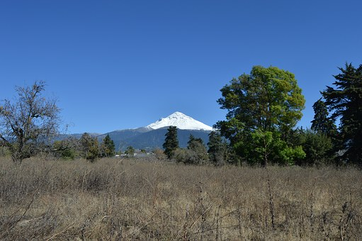 Popocatepetl Volcano, Volcano, Vulcan, Mexico