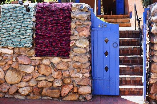 Santa Fe, New Mexico, Purple, Southwest, Door