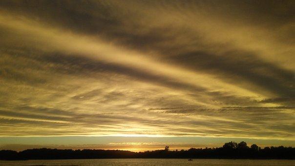 Amazing, Glorious, Sunset, Striking, Stunning, Sky