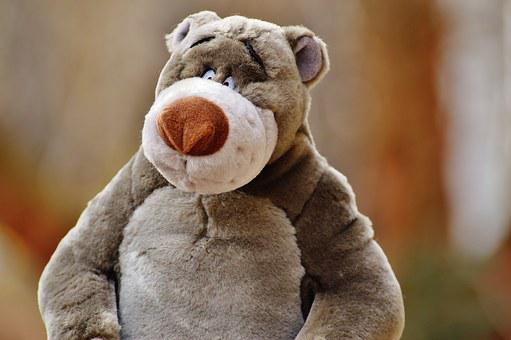 Bear, Soft Toy, Disney, Stuffed Animal, Cute, Toys