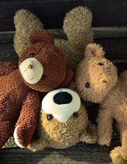 Teddy, Teddy Bears, Soft Toy, Stuffed Animals