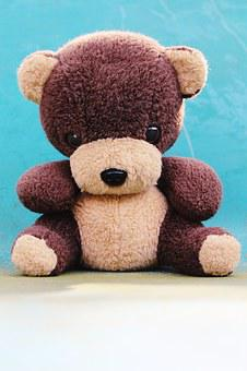 Teddy, Teddy Bear, Bear, Soft Toy, Cute, Toys, Bears
