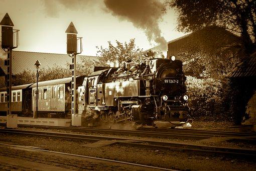 Locomotive, Train, Steam Locomotive, Loco, Railway