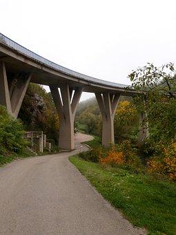 Bridge, Road, Outside, Nature, Travel, Transportation