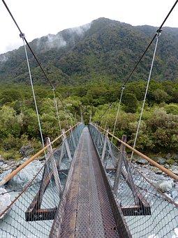 Bridge, River, Travel, Water, Outdoors, Destination