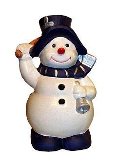 Snowman, Christmas, Snow, Eismann, Snowmen, Winter
