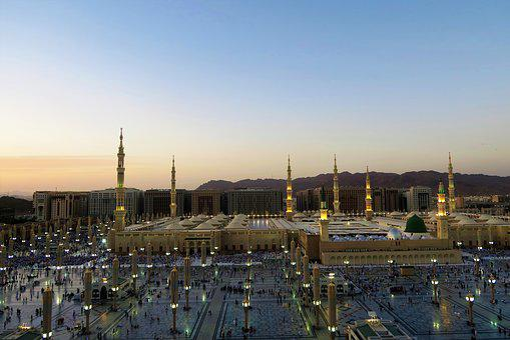 Masjid Nabawi, Cami, Islam, Religion, Architecture