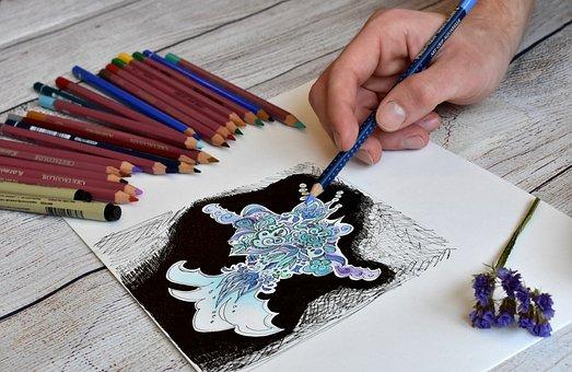 Artist, Illustrator, Drawing, Design, Artistic