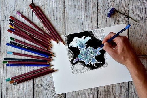 Artist, Drawing, Illustrator, Design, Artistic