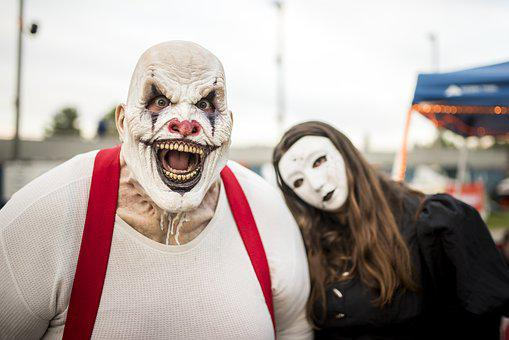 Clown, Halloween, Creepy, Horror, Fear, Blood, Scare
