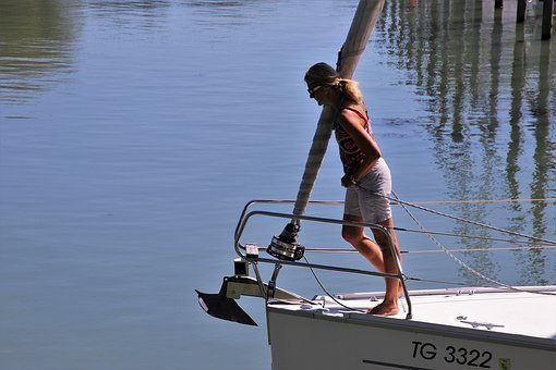 Lake, Cruise, Sailboat, Boat, Sailing, The Mast