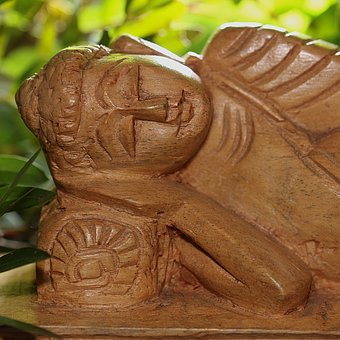 Buddha, Lying, Sleeping, Wood, Nature, Buddhism, Statue