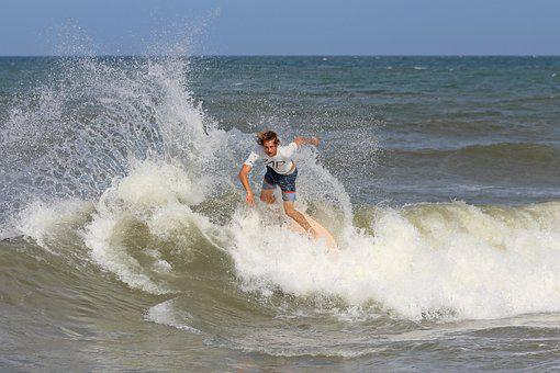 Obx, Waves, Seaside, Outer, Banks, Summer, Coast