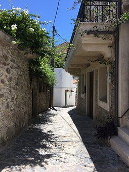 Greek Street, Greece, Crete, Architecture, Island