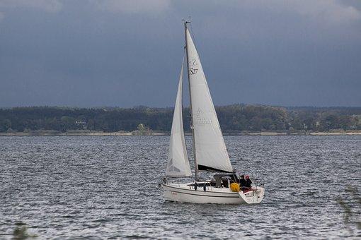 Sailing Boat, Crew, Man, Woman, Navigation, Water