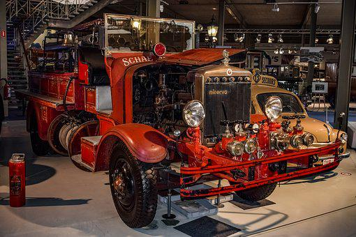 Fire Engine, Fire Truck, Vehicle, Fire, Emergency, Red