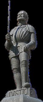 Figure, Manneken, Executioner, Fountain, Sword, Hangman