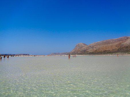 Balos, Crete, Greece, Beach, Sea, Holidays, Landscape