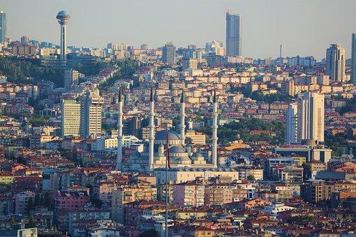 Cami, City, Religion, Architecture, Islam, Turkey