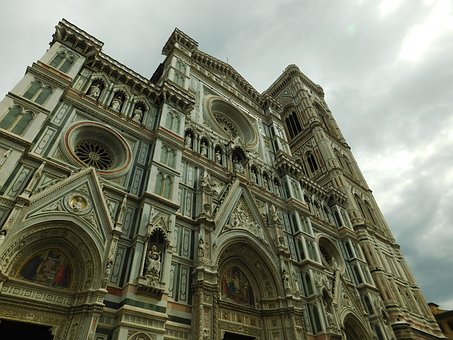 Catedral, Firenze, Cathedral, Italy, Church
