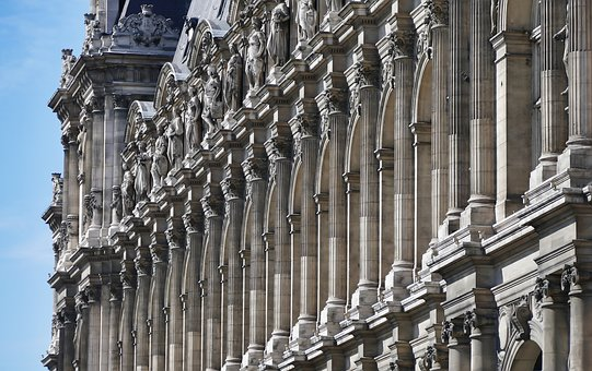 Paris, Hotel De Ville, France, Architecture, Landmark