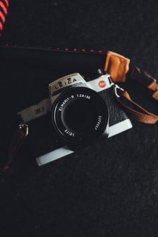 Leica, Camera, Photography, Film, Retro, Lens